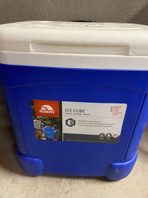 Igloo 60 quart cooler with wheels for Sale in San Francisco, CA