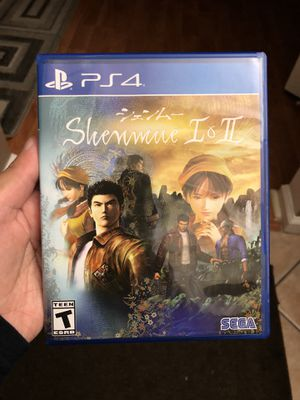 Shenmue Remaster PS4 for Sale in West Palm Beach, FL