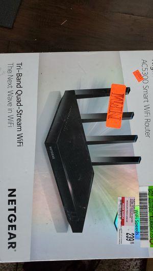 Nighthawk X8 AC5300 Smart WiFi Router for Sale in McKinney, TX