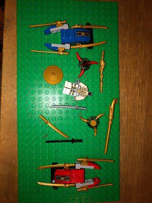 Assorted Lego Ninjago Accessories for Sale in Sunnyvale, CA