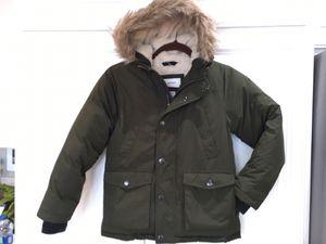 Boys old navy down jacket parka coat sz small 6-7 for Sale in Encinitas, CA