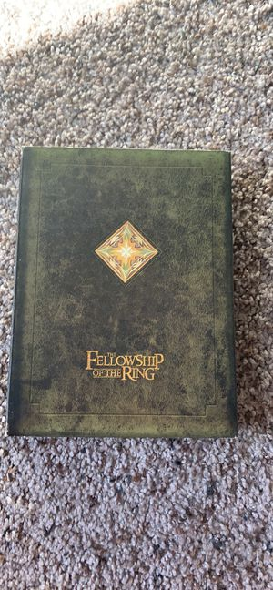 Lord of the rings fellowship dvd collection for Sale in Wenatchee, WA