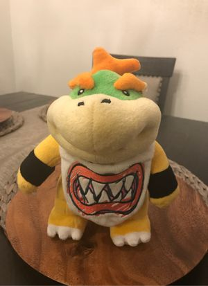 Bowser JR plushie super Mario toy for Sale in Rancho Cucamonga, CA