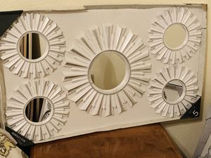 VERY NICE WALL GALLERY MIRRORS for Sale in Fresno, CA