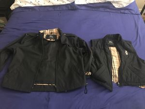 Burberry coat and vest for Sale in Pompano Beach, FL