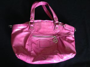 Coach pink patent leather satchel for Sale in Washington, DC