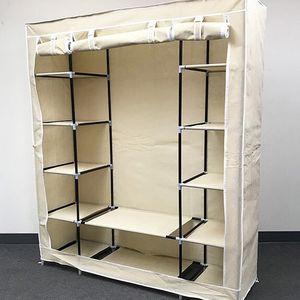 $35 (new in box) wardrobe closet storage fabric clothing organizer 60x17x68 inches for Sale in Whittier, CA