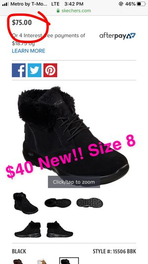 New Skechers boots size 8 for Sale in Banning, CA