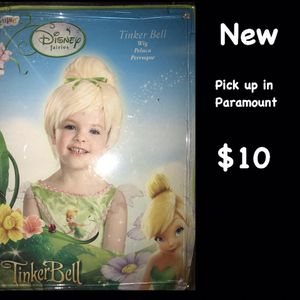 Tinkerbell wig for Sale in Long Beach, CA