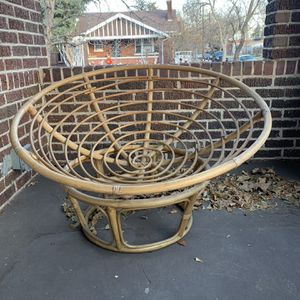 Pier One Papasan Chair Frame for Sale in Denver, CO