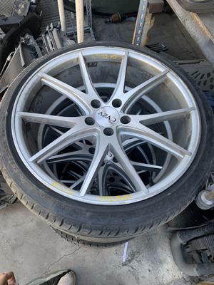 20 inch Azad rims 5x112 bolt pattern for Sale in Fontana, CA
