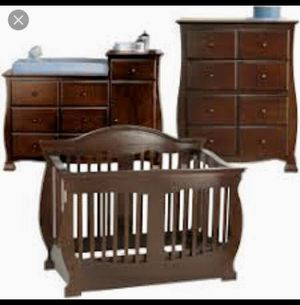 Beautiful high end crib/full bedroom set. for Sale in Westminster, CO