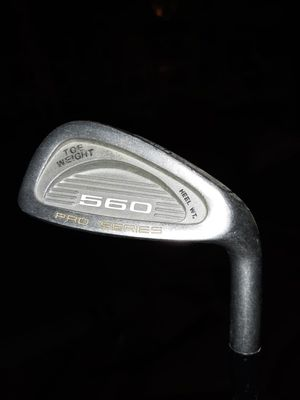 Synchron high modulus boron gold toe weight 560 pro series 9 iron for Sale in Rapid City, SD