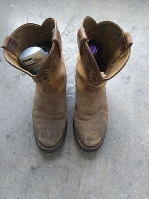 Aristotle Work Boots wore 5 Day for inspection n Arizona. for Sale in Dallas, TX
