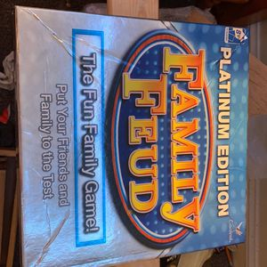 Platinum edition family feud board game for Sale in Mastic Beach, NY