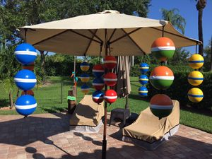 Outdoor patio pool yard key west theme buoys decoration for Sale in West Palm Beach, FL