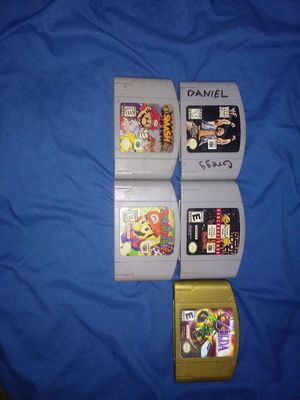 Nintendo 64 (N64) games for sell ALL WORK IN PERFECT WORKING CONDITIONS for Sale in San Antonio, TX