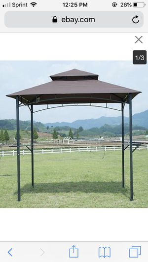 FDW 8'x 5'BBQ Grill Gazebo Barbecue Canopy Tent for Sale in Duluth, GA