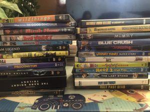 Movies dvds kids cartoon kids movie baby cds drama for Sale in Glendale, AZ