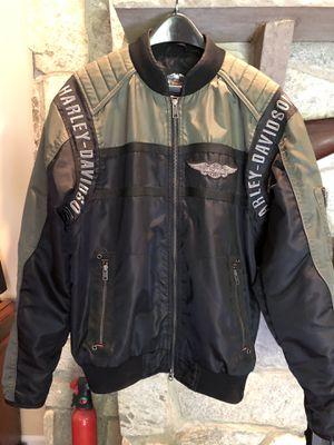 Harley Davidson Bomber Motorcycle Jacket Medium (M) for Sale in Sully Station, VA