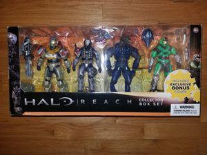 Halo Reach Figure Collector Box Set for Sale in Seattle, WA