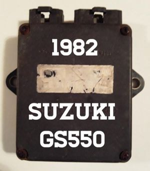 1982 Suzuki GS550 Motorcycle Igniter Box CDI Computer for Sale in Hollywood, FL