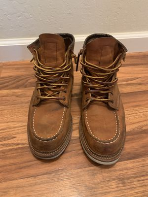 Red Wing shoes, work boots for men. Leather for Sale in Montara, CA