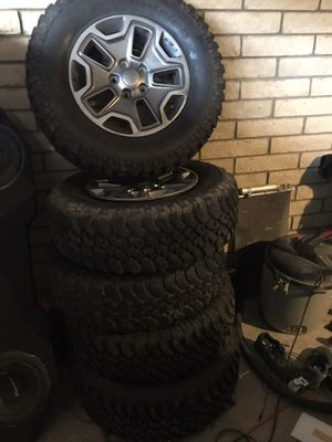 Wrangler wheels & tires for Sale in Phoenix, AZ