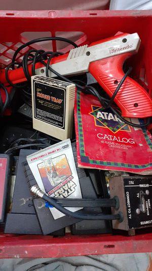 Atari and Ninetendo lot..Crate Full for Sale in Pompano Beach, FL