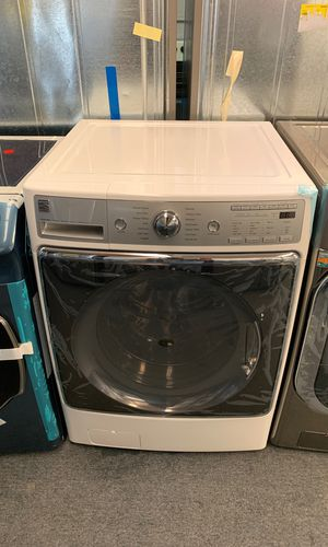 New scratch and dent Kenmore elite 5.2 cu.ft front load washer 1 year warranty for Sale in Saint Pete Beach, FL