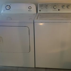 Dryer by Amana & Washer by Kenmore *WORKS GREAT*/ recently upgraded for Sale in Stafford, TX
