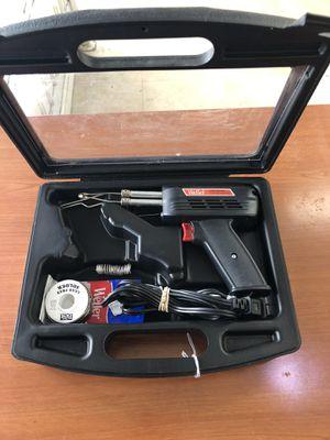 Weller 8200 120 Volt 140/100 Watts Universal Soldering Iron Gun w/Case for Sale in Hollywood, FL
