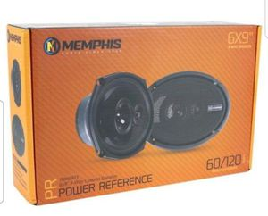 "MEMPHIS PRX6903 6""x9"" 3-WAY PEI TWEETERS COAXIAL SPEAKERS & GRILLS CAR AUDIO NEW for Sale in San Diego, CA"