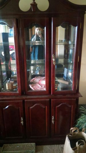 Need to sell China cabinet today ! Antique ! for Sale in Renton, WA