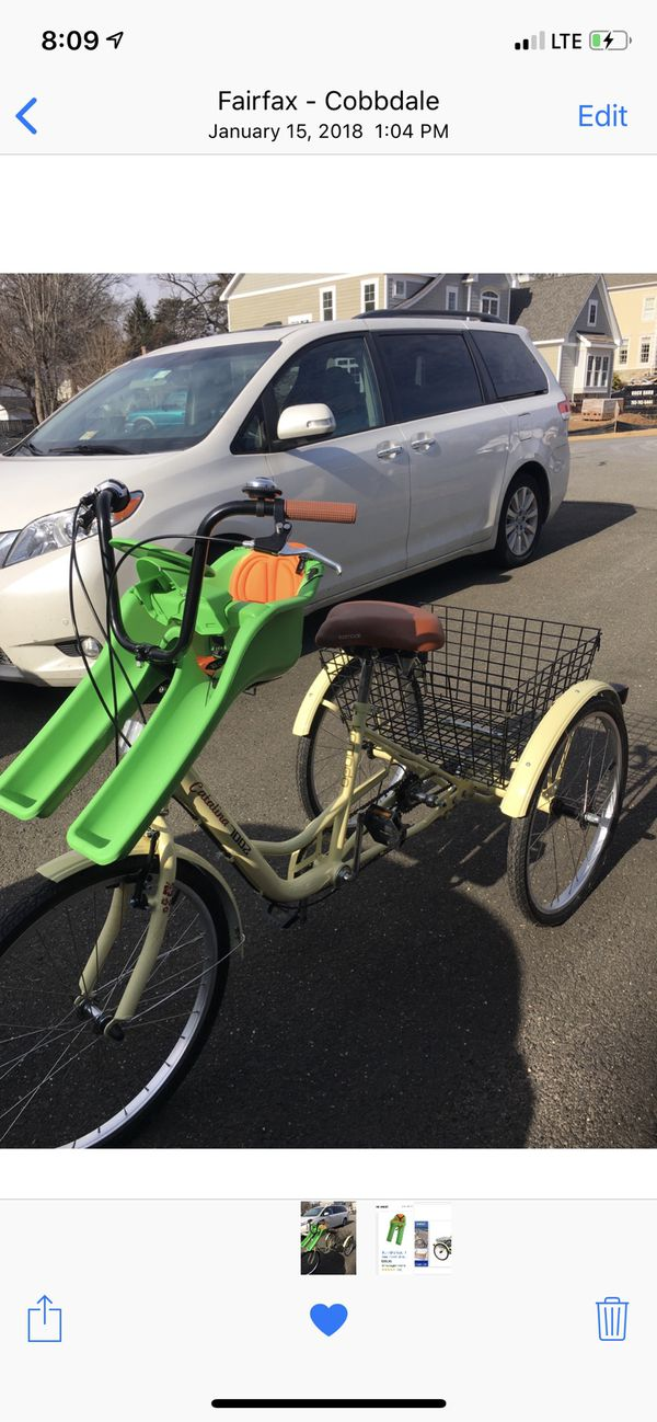 Tricycle adult Kokomo Catalina excellent condition