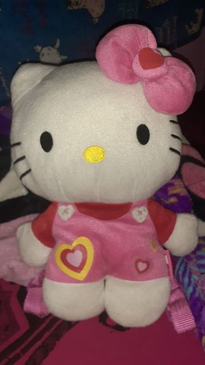 Hello kitty heart plush 13 inch for Sale in Houston, TX