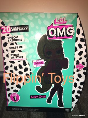 Lol Surprise OMG Fashion Doll- Lady Diva for Sale in Huntington Beach, CA
