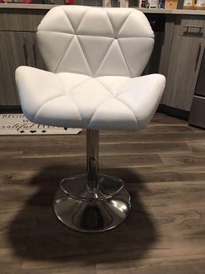 White barstool for Sale in Dallas, TX