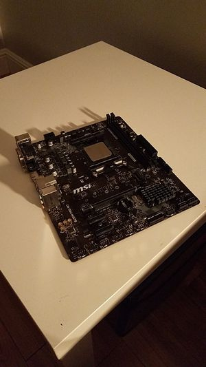 AM4 Ryzen 2600 + B450M PRO-M2 for Sale in Vancouver, WA