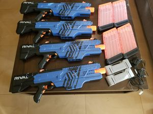 Nerf khaos and rechargeable batteries lot for Sale in Anaheim, CA