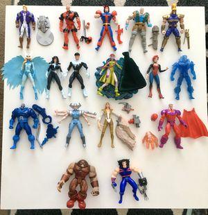 Vintage Marvel xmen action figures for Sale in Fort Worth, TX