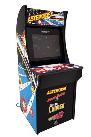 Asteroids Arcade Machine, 4ft for kids, yound adluts, adults, home, living room, game room, for Sale in Henderson, NV