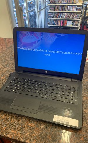 HP laptop w/charger for Sale in Austin, TX
