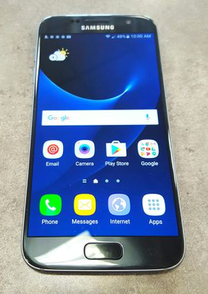 Sprint Samsung Galaxy S7 32gb Black Android Smart Cell Phone for Sale in Vancouver, WA