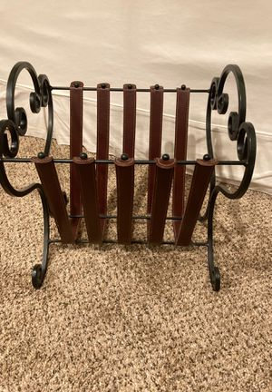 Magazine rack or album/record holder for Sale in San Jose, CA