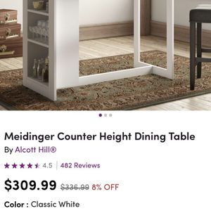 Counter Height Dining Table - Like New! for Sale in Milwaukie, OR