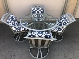 Patio Table Set for Sale in March Air Reserve Base, CA