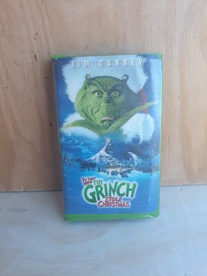 Jim Careys Grinch VHS for Sale in Rio Linda, CA