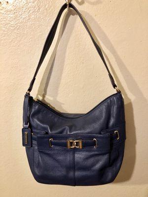 Tignanello Navy Pebble Leather shoulder bag for Sale in Los Angeles, CA