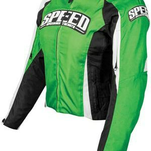 SPEED AND STRENGTH THROTTLE BODY WOMANS TEXTILE JACKET GREEN/BLACK SIZE L Women for Sale in San Pablo, CA